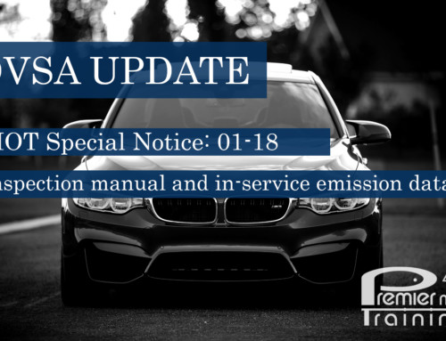 Key Points about MOT Special Notice 01-18